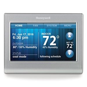 Honeywell RTH9580WF Smart Wi-Fi 7 Day Programmable Color Touch Thermostat