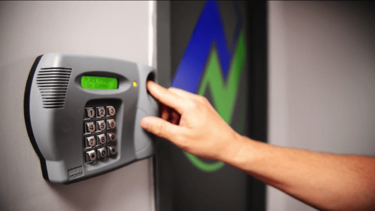 a biometric door lock works the same way as a fingerprint lock on a smartphone or laptop once you have bought the system and installed it on your door