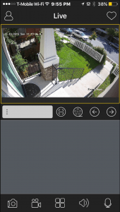 Q-see security camera smartphone app