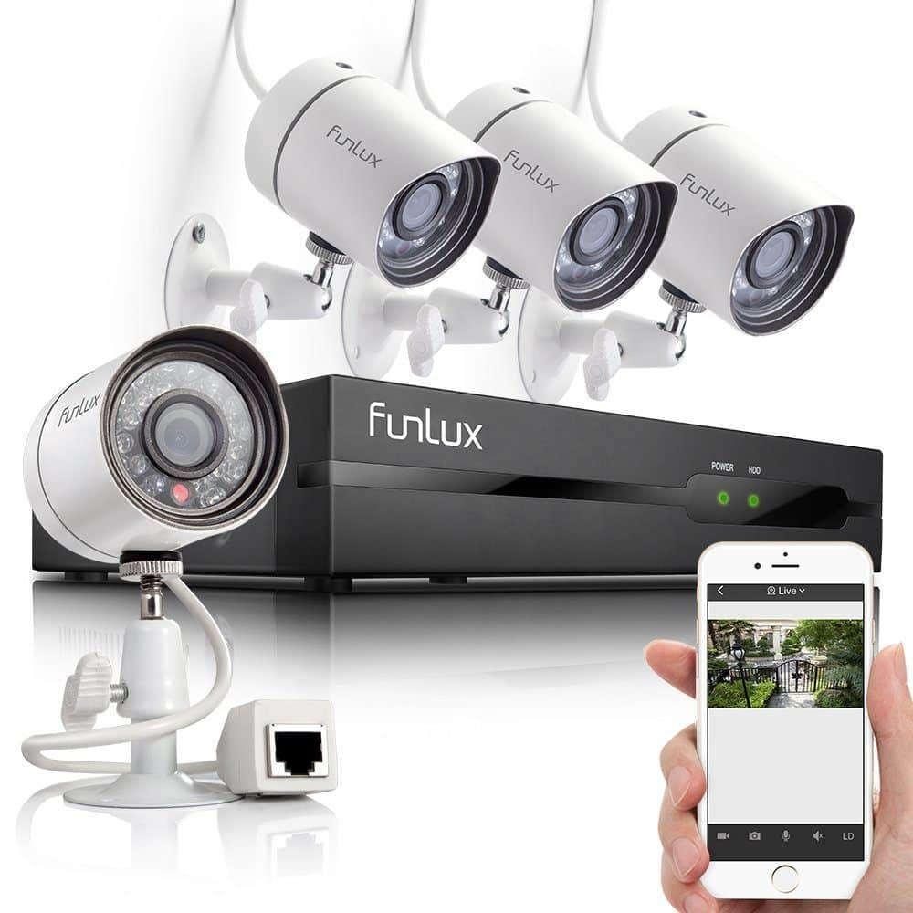 Funlux 4 Outdoor Security Camera