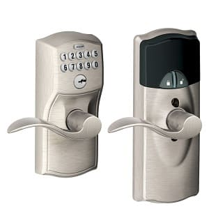 Schlage FE599NX CAM 619 ACC 619 Home Keypad Lever with Z-Wave Technology