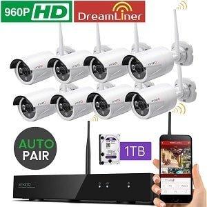 xmartO WOS1388-1TB Wireless Security Camera
