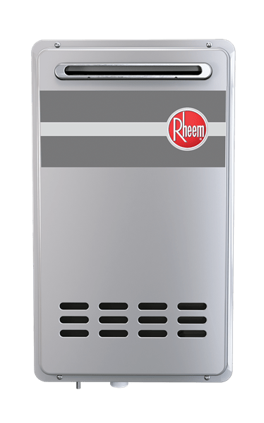 rheem outdoor tankless water heater