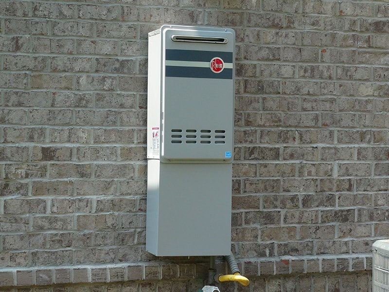 Best tankless hot water heater home buying checklist Tankless water heater exterior installation