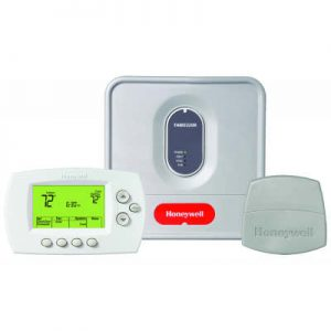 honeywell YTH6320R1001 thermostat with outdoor temperature sensor