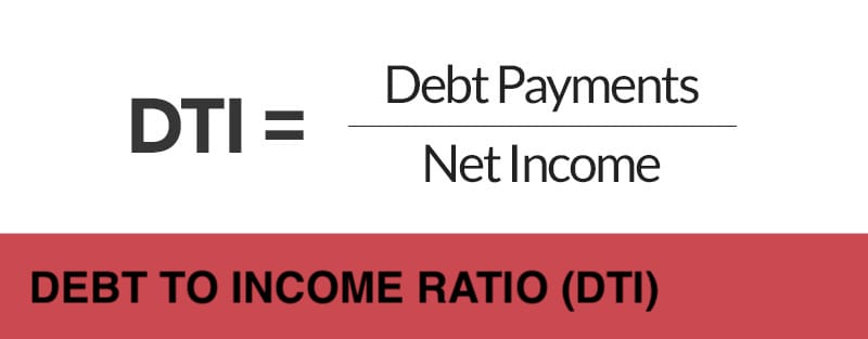 debt to income ratio DTI